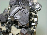 Galena and Sphalerite, Tri-State District, U.S Mined c. 1950s, Dr. Perry & Anne Bynum Collection, Miniature 3.0 x 3.5 x 5.5 cm, $50. Online 7/27 SOLD