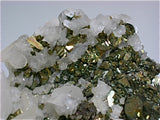 Calcite on Pyrite after Pyrrhotite, Trepca Complex, Kosovska Municipality, Kosovo Small cabinet 4.5 x 8 x 12 cm $220.
