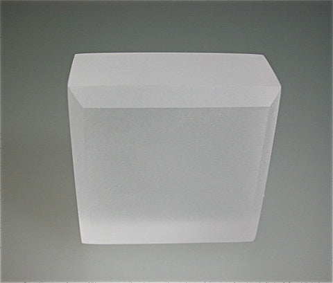 Frosted Acrylic Base: shown here 1 x 2 x 2 All sizes available in Frosted Exterior at same price as Polished Exterior