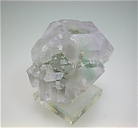 Fluorite with Chalcopyrite inclusions, Naica Complex, Chihuahua, Mexico Miniature 4 x 4 x 4.5 cm $350. Online 4/26