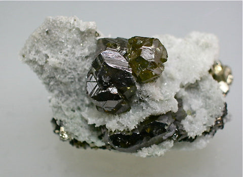 SOLD Sphalerite, Mogila Mine, Bulgaria Miniature 2.5 x 2.8 x 5 cm $60.