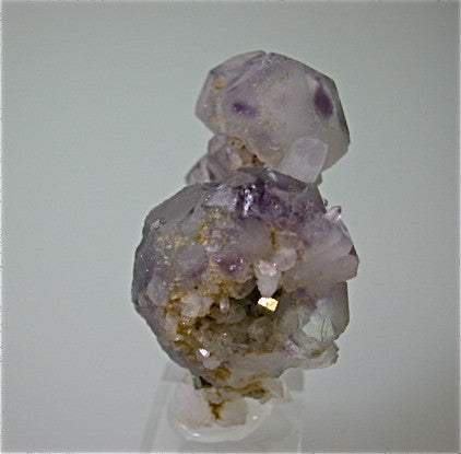 Fluorite and Quartz, Hunan Province, China miniature 3 x 4.5 x 5.5 cm $125. Online 7/26