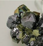 Galena and Pyrite, Mogila Mine, Bulgaria Small cabinet 4 x 5.5 x 9 cm $125. SOLD