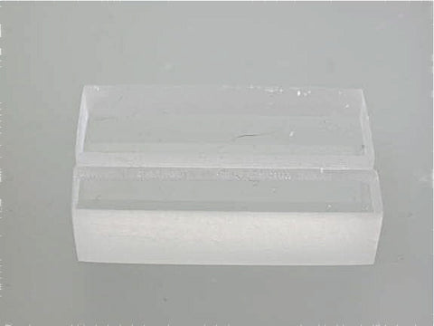 Acrylic Label Holder 3/8 inch thick x 3/4 inch deep x 1 25 inch long,  $1 75/each