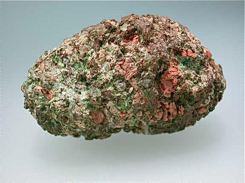 Copper after Rhyloite, Calumet Conglomerate, Lake Superior Copper District, Houghton County, Michigan Miniature 2.7 x 3.2 x 5.5 cm $75. SOLD