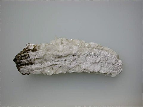 Barite with Hydrocarbons, Cave-in-Rock District, Southern Illinois attr: Minerva #1 Mine, Minerva Oil Company Miniature 1.5 x 2.5 x 7.5 cm $25. Online 4/22 SOLD