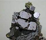 SOLD Galena and Sphalerite with Chalcopyrite, 9th of September Mine, Madan District, Smolyan Oblast Bulgaria, Miniature 4.0 x 5.0 x 6.5 cm, $75.  Online 6/5.