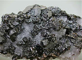 Sphalerite and Quartz, Sub-Rosiclare Level, Deardorff Mine, Ozark-Mahoning Company, Cave-in-Rock District, Southern Illinois Medium cabinet 6.5 x 10.5 x 14 cm $2800. Online 9/2. SOLD.