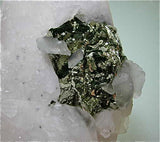 Pyrite and Calcite, Trepca Complex, Kosovska Municipality, near Mitrovica, Kosovo Small cabinet 5 x 8 x 9.5 cm $250. Online October 6 SOLD
