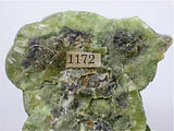 Wavellite, Slate Mountain, El Dorado County, California Miniature 1.5 x 4 x 4.5 cm $65. Online 10/16.  SOLD.