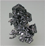 Polybasite on Argentite, Guanajuato, Mexico Miniature 2 x 3 x 3.5 cm $2000. Online 12/10. ON APPROVAL.