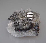 Pyrite and Quartz with Sphalerite