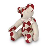 Harley Patchwork Bear Sewing Pattern - PDF Download