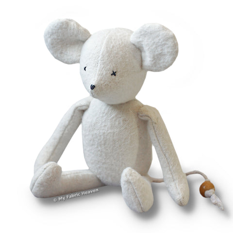 "Huggable 10"" Mouse Paper Sewing Pattern"