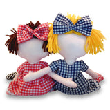 2 x Printed Sewing Patterns, Sarah Rag Doll & Teddy Eddy Bear