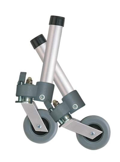 "Swivel Wheel with Lock and Rear Glide for 3"" Wheels"