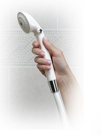 deluxe hand held shower wand for the ultimate bathing experience