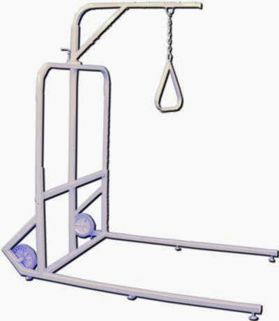 Drive Medical Free Standing Bariatric Trapeze, 1000 lb. capacity