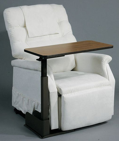 the 13085 overbed or chair table meets the needs of our most demanding clients.