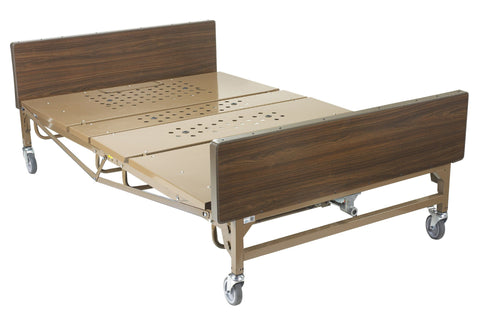Drive Full Electric High /Low Adjustable Bariatric Bed Package,15303BV 1000 lbs.capacity