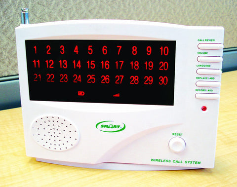 The SmartCareGiver 433 central monitor is great for smaller homes with less than 30 residents.