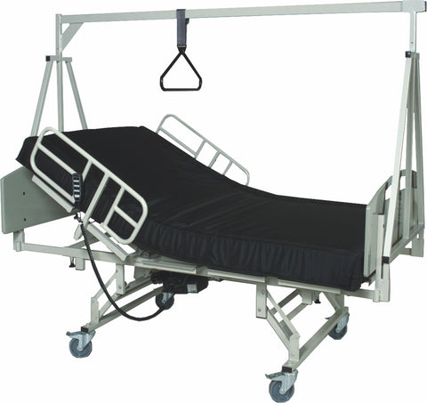 variable width hospital bed for use in the home