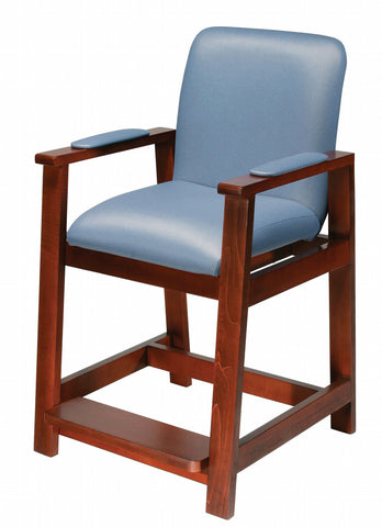 Drive Deluxe Hip high Chair in wood frame, 17100, or metal,17100-BV