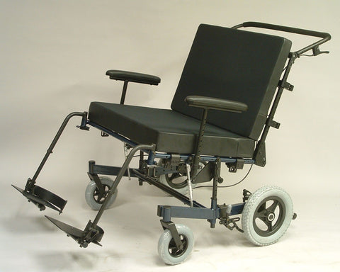 Gunnell Tilt in space wheelchair is ideal for bariatric rehabilitation