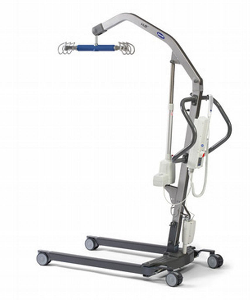 Invacare I-lift is a newer electric  lift but meets the needs of those who need multiple hooks for sling hookup.