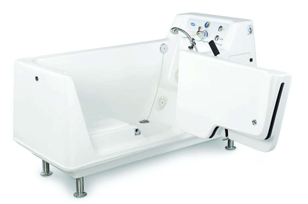 invacare free standing tub ih3602g with and enhanced sanitation with sanijet technology