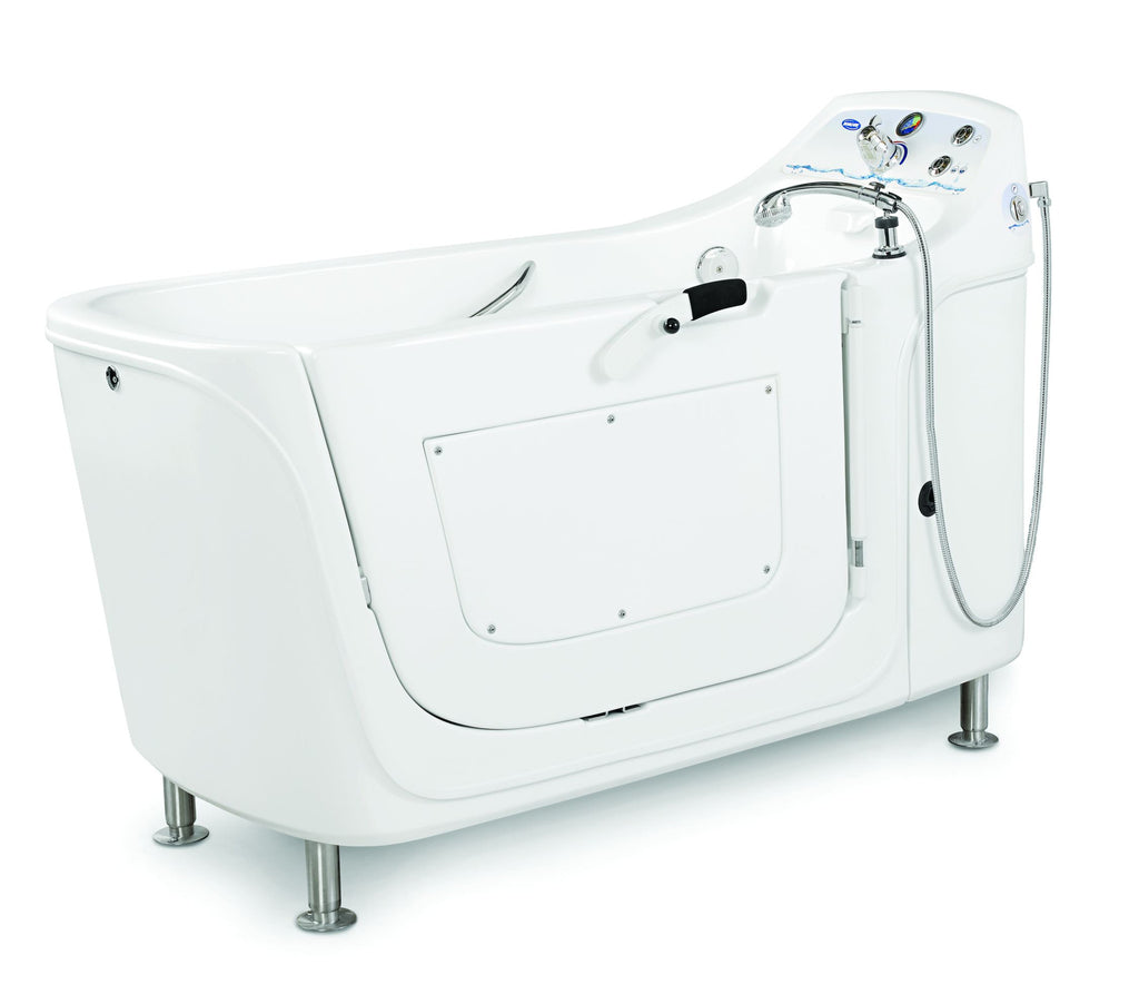 invacare silcraft ih3652g free standing whirlpool tub for assisted living now with pipeless technology