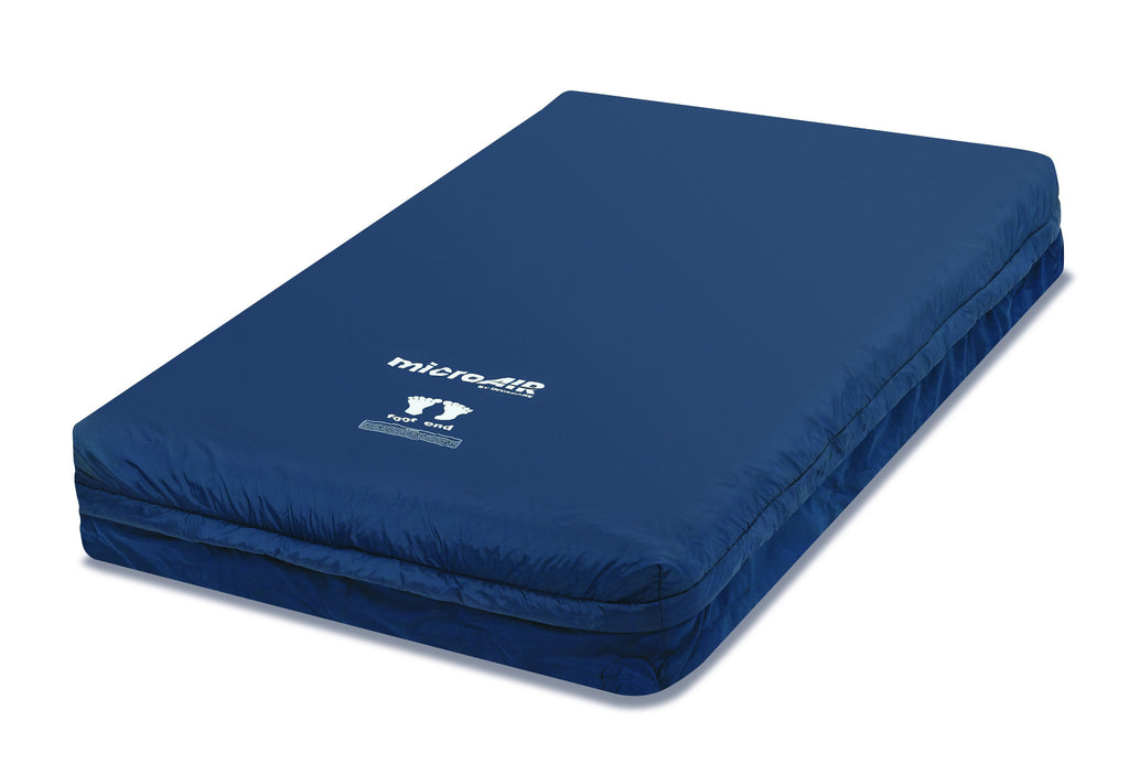 The MA65 MicroAir Alternating pressure mattress and pump from InvaCare has 1000 lbs capacity