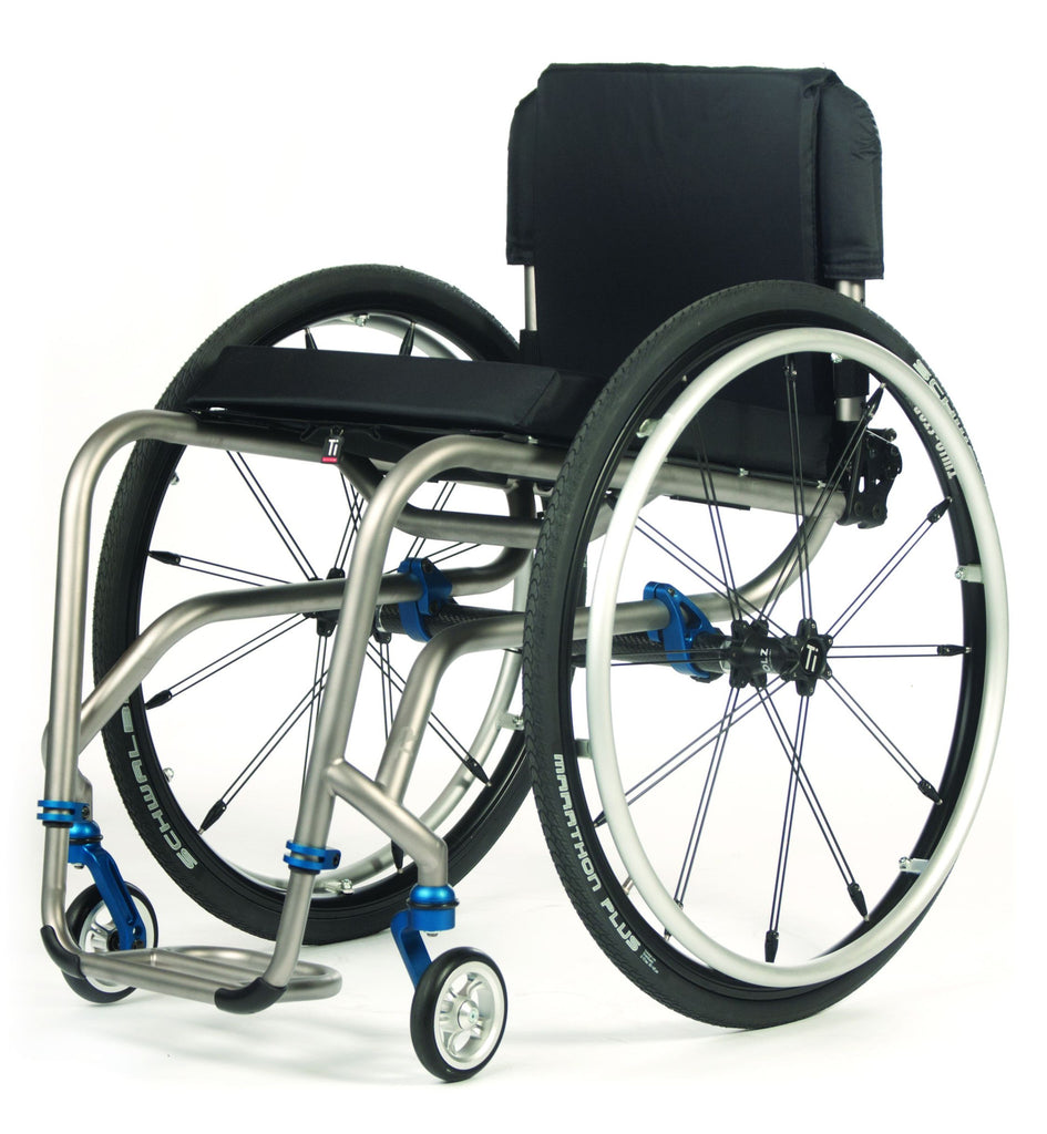 TilIte TR Series 3 Rigid Frame Lightweight Titanium Wheelchair