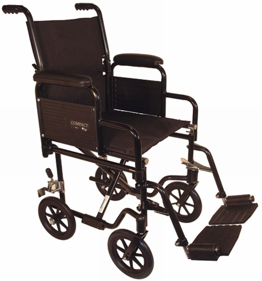 TuffCare 700 Compact Manual Wheel Chair Detachable Arm Transport