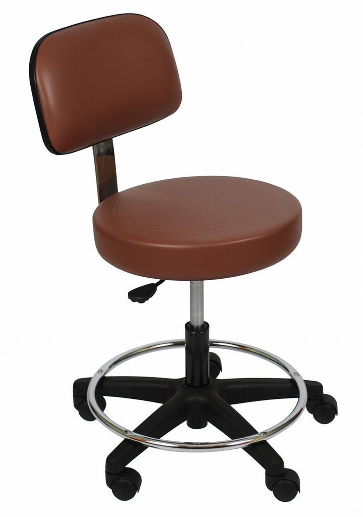 UMF office stool or extra chair,  easy rolling casters , a comfortable chair