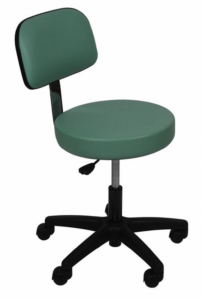 "1stSeniorCare-UMF-6746 Ultra Comfort Stool with backrest and 16"" seat"