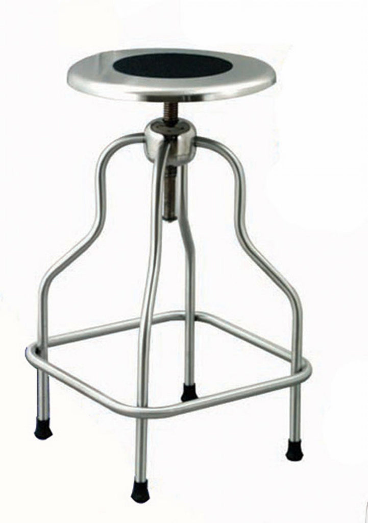 UMF stainless steel stool for corrosive environments, high durability