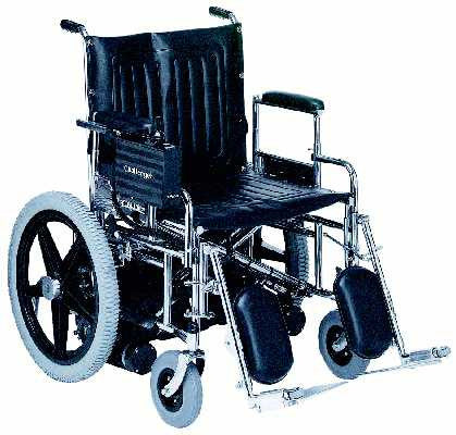 "TuffCare Challenger 2500E Extra Wide Power Wheel Chair, 22"" to 26"" seat widths, Free Shipping!"