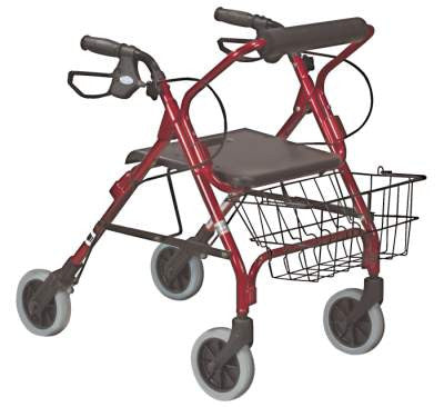 Junior Aluminum Rollator Free Shipping