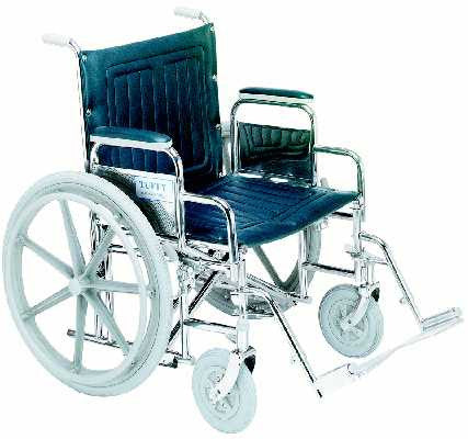 TuffCare 352 Tuffy Wide Hemi Manual Wheel Chair FREE SHIPPING