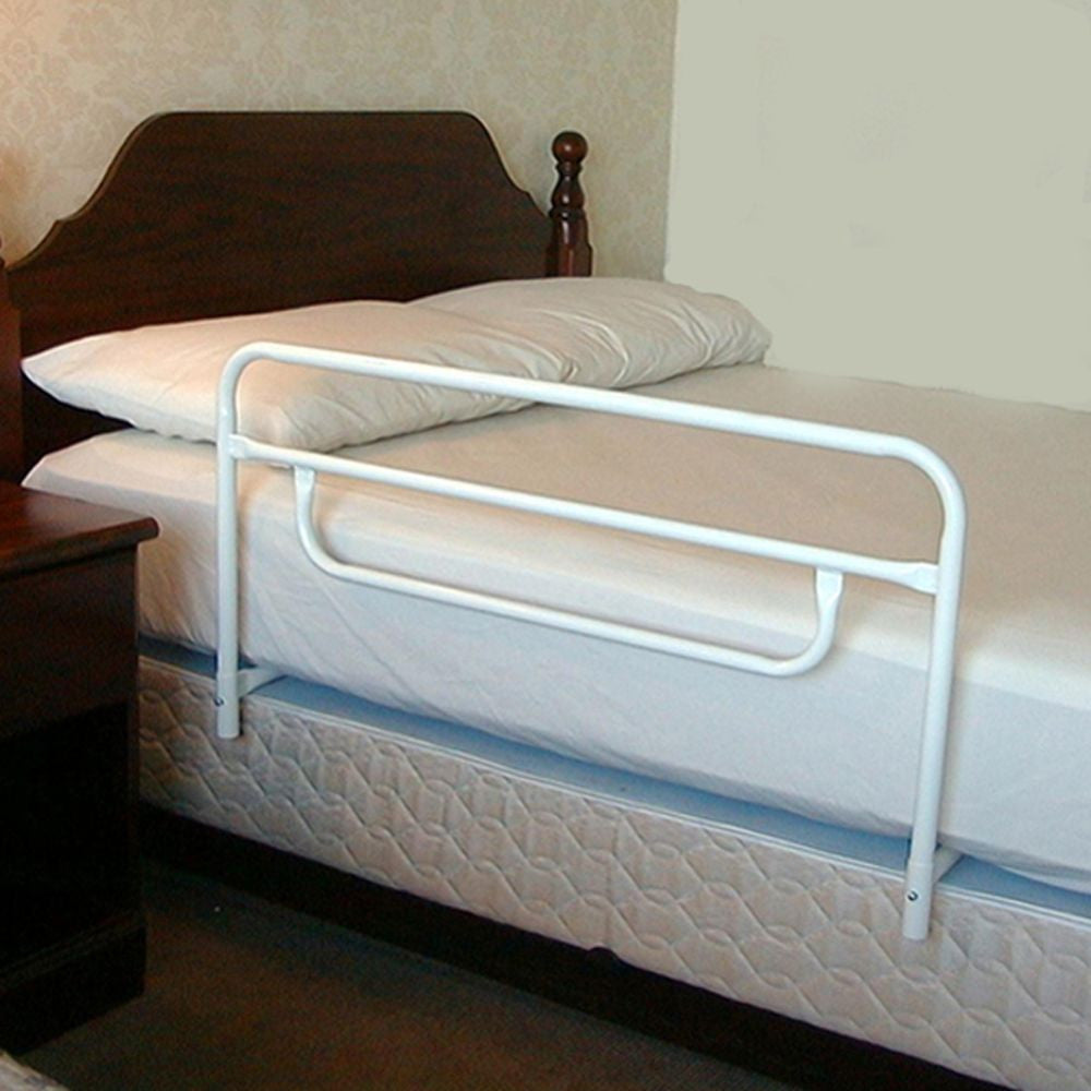 add security to your bed by installing this easy to use bed rail