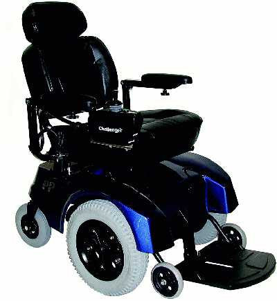 TuffCare Challenger 5510 'Front Drive' Powerchair Electric Wheel Chair, Free Shipping