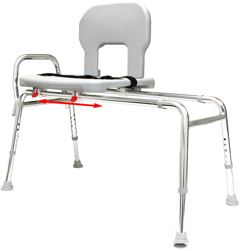Eagle Health 55211 Bariatric Capacity Sliding  Transfer Bench