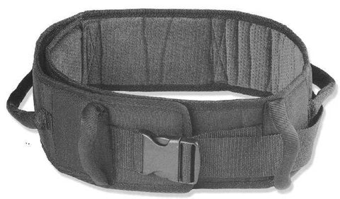SafetySure Padded Patient Transfer Belt Caregiver Aid Gait Belt, Now in Sherpa style