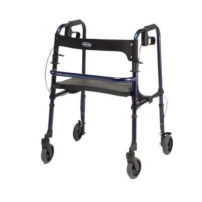 InvaCare new four wheeled rollator, the Rollite INV65100