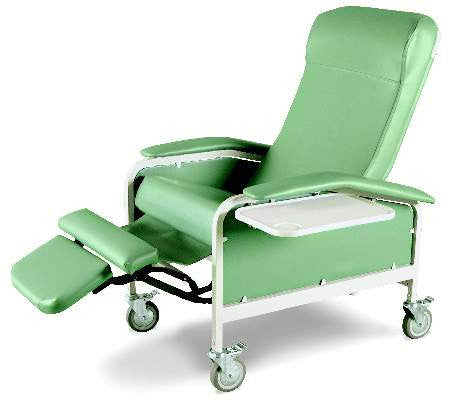 Winco Care Cliner 6530 Recliner With Nylon Casters