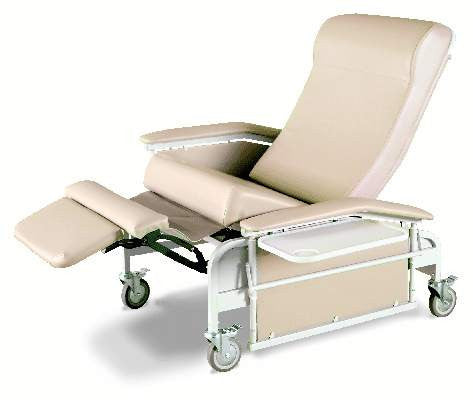 Winco Convalescent 3 Position Recliner 6570, 450 lbs capacity