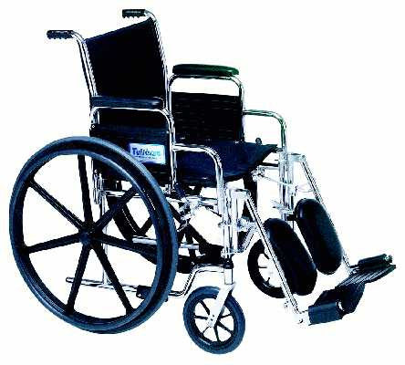 TuffCare 677E Venture Light Detachable Arm Manual Wheel Chair