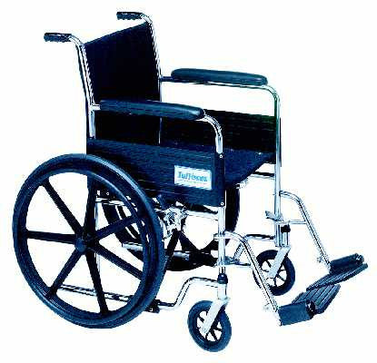TuffCare 687 Venture Fixed Arm Manual Wheel Chair