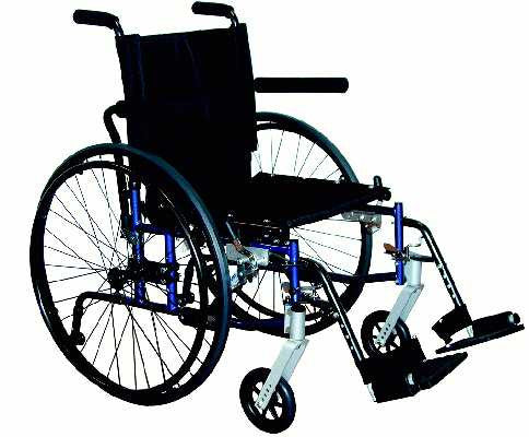 TuffCare 757 Compact Feather Light Manual Wheel Chair